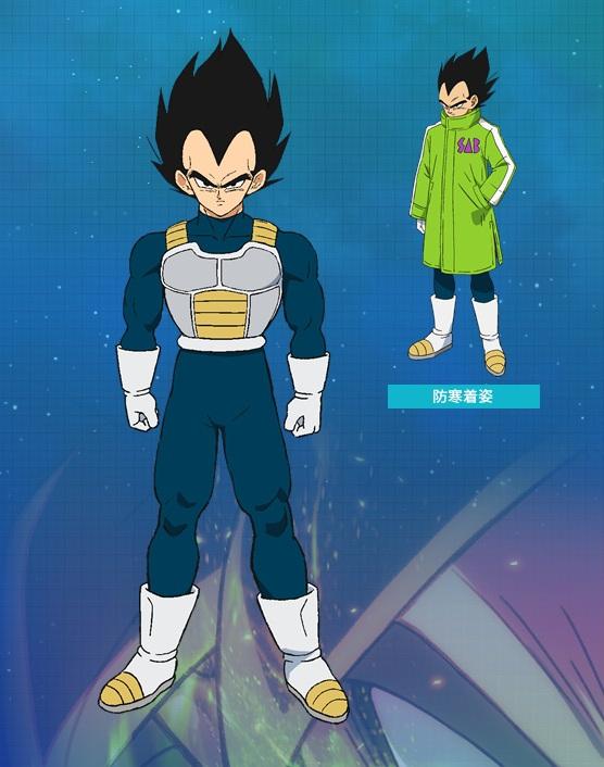 Vegeta Dragon Ball Broly personaggi film di aniamzione 2019 febbraio anime cartoni animati giapponesi Dragon ball