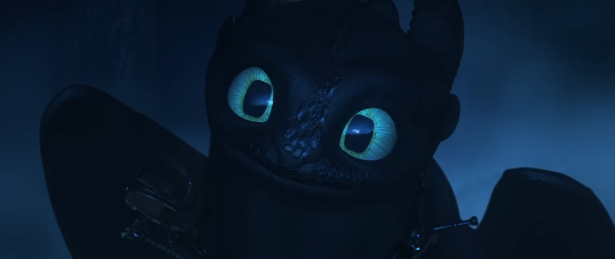 Sdentato innamorato - Dragon Trainer il mondo nascosto - film di animazione 2019 - film Dreamworks - Draghi - How to Train Your Dragon: The Hidden World