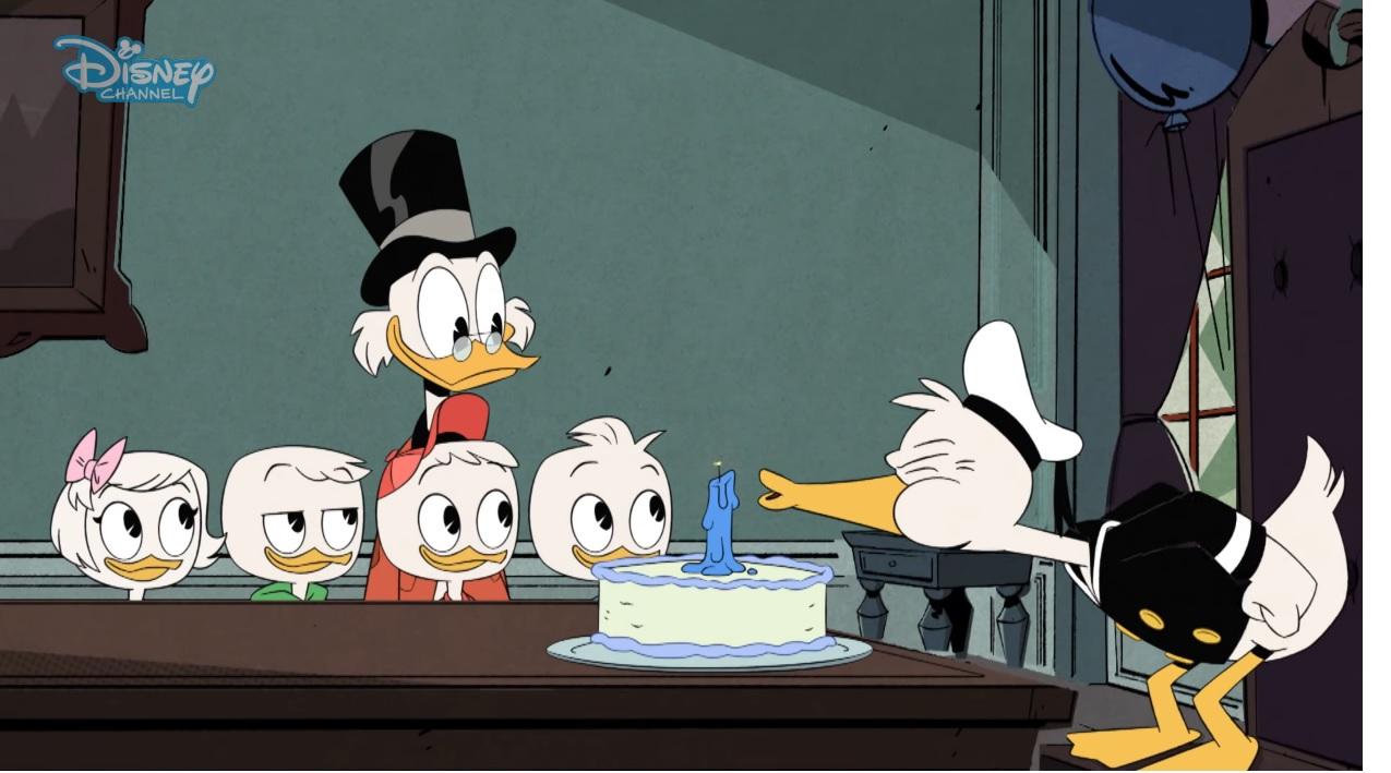 Ducktales Corto Il Compleanno Di Paperino Cartoni Animati