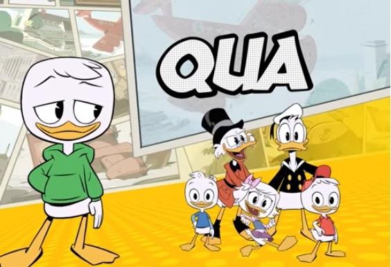 Ducktales personaggio Qua papero Disney channel cartoni animati