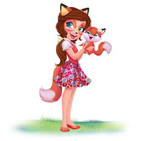 Enchantimals cartoni animati serie web Felicity Fox e Flick