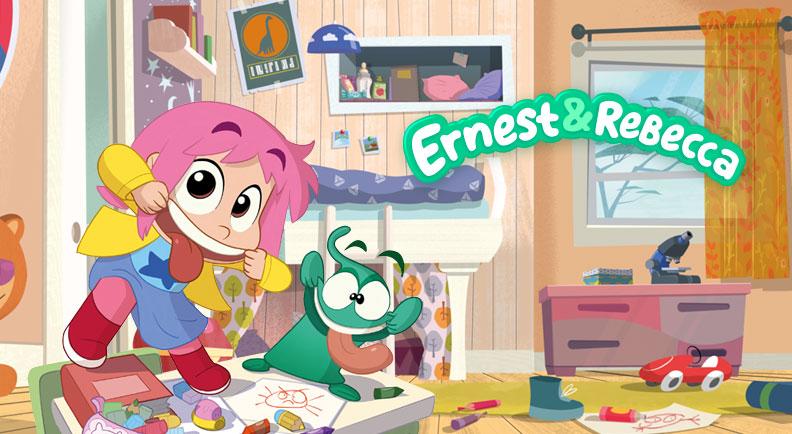 Ernest & Rebecca - Cartoni animati