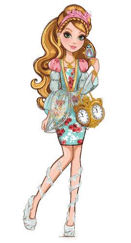 Ever After High  personaggio cartone animato reale figlia di Cenerentola Ashylynn Ella