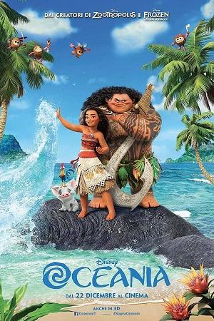 Oceania Moana elenco film disney  poster lista completa