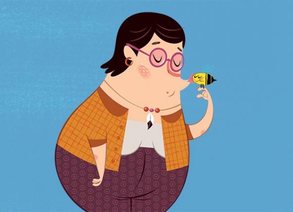 Olga Floopaloo cartoni animati Flapacha ou es tu? persoanggi characters