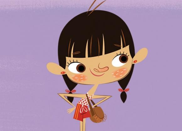 Lisa Floopaloo cartoni animati Flapacha ou es tu? persoanggi characters
