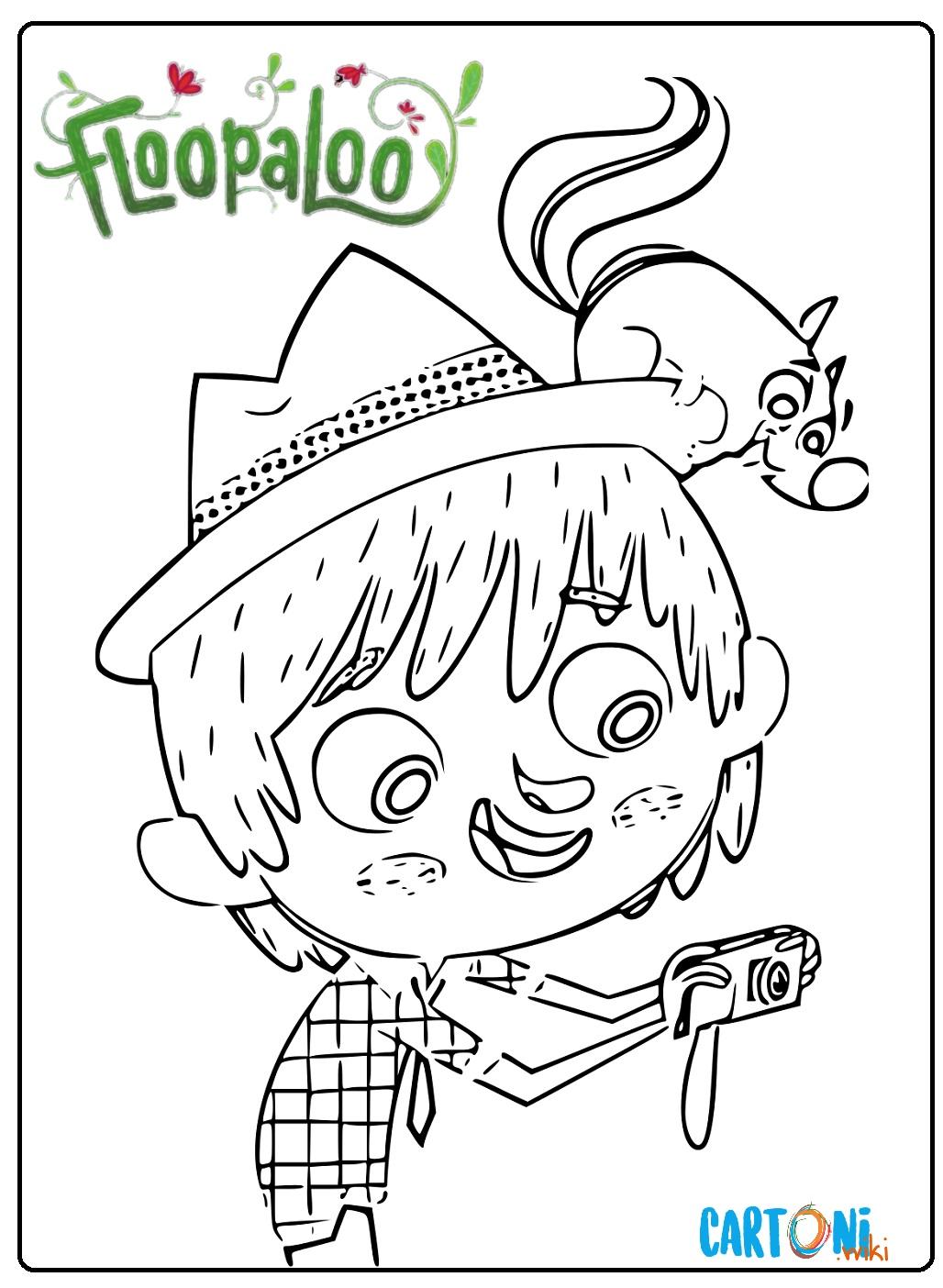 Floopaloo disegno Matt da colorare - Disegni da colorare