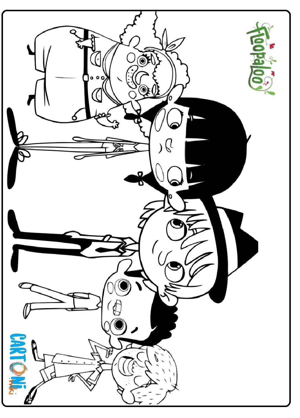 Floopaloo disegni da colorare - Cartoni animati