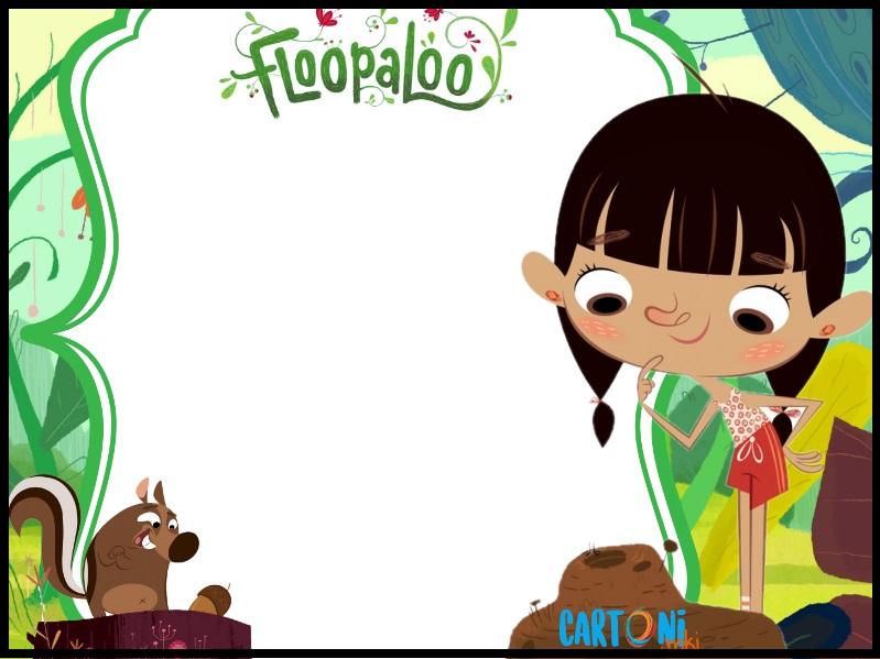Inviti feste di compleanno Floopaloo con Lisa - Inviti compleanno online