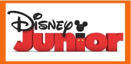 Disney Junior Sky logo guida tv canali DDT programmazione oggi in tv cartoni animati