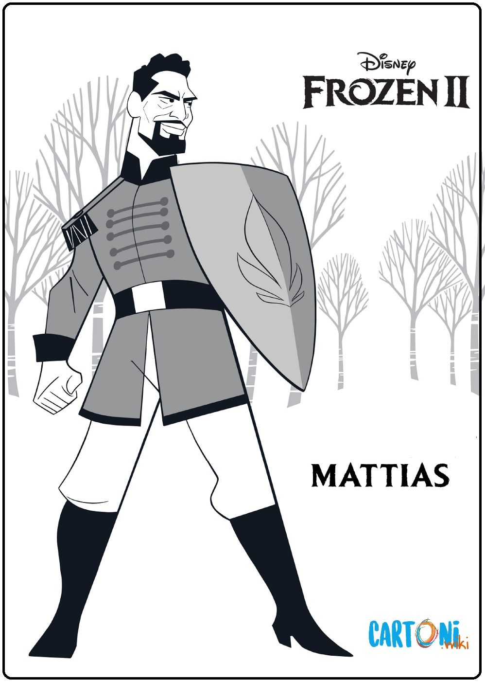 Tenente Mattias Frozen 2
