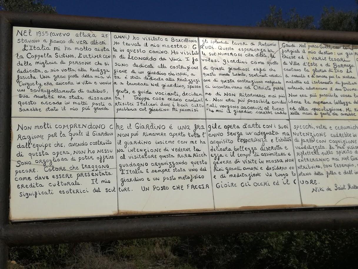 Giardino dei Tarocchi - tarca niki - parco all'aperto - Cosa fare con i bambini - Capalbio - Toscana - parchi Toscana - cosa fare con i bambini a Capalbio
