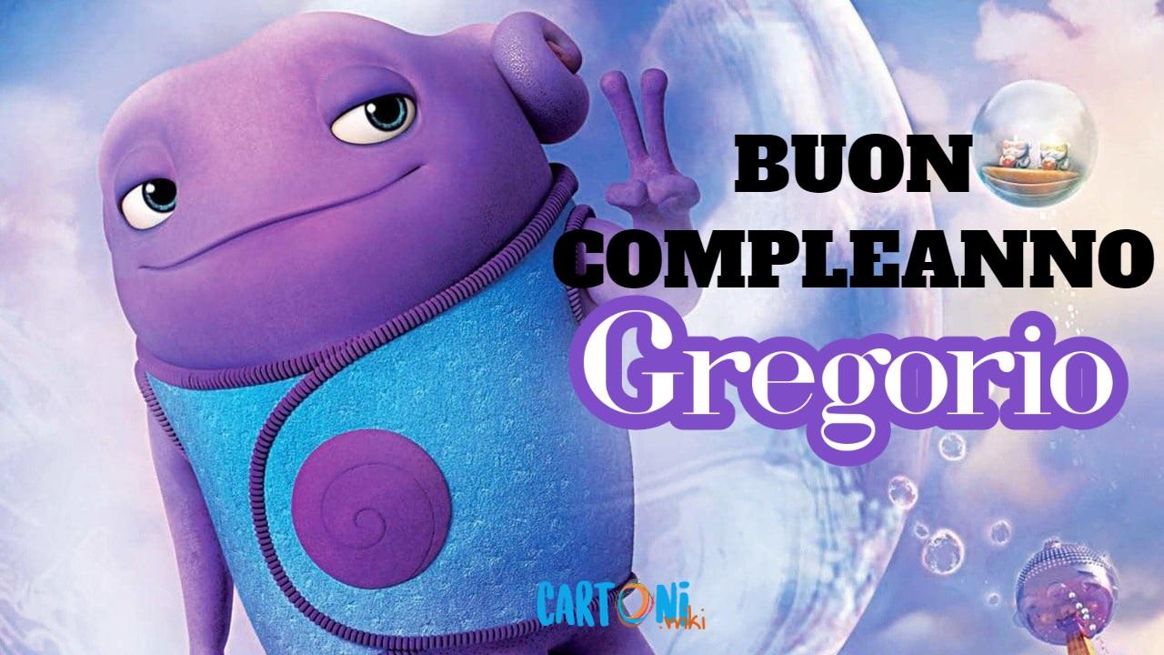 Gregorio buon compleanno - Cartoni animati