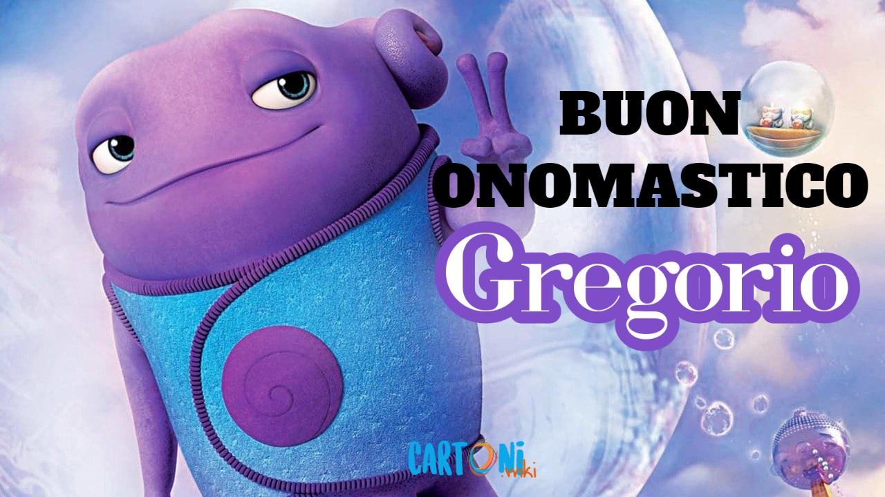 Gregorio buon onomastico - Cartoni animati