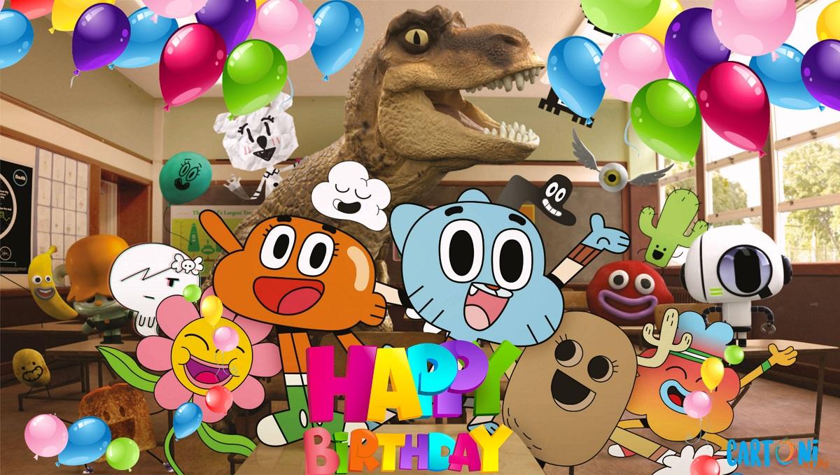 Gumball Happy birthday - Cartoni animati