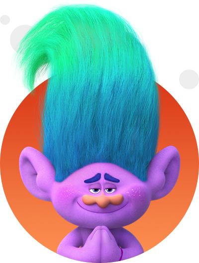 trolls dreamworks cartoni animati personaggi film d'animazione personaggio Creek