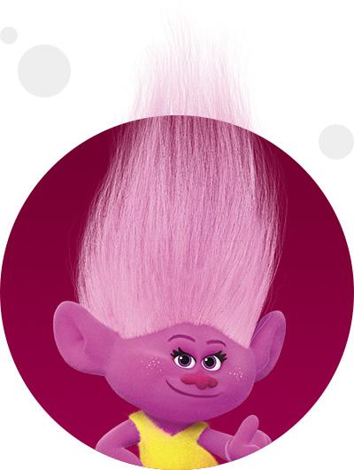 trolls dreamworks cartoni animati personaggi film d'animazione personaggio Moxie Dewdrop