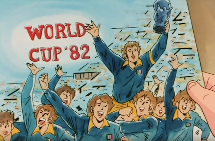 Holly e Benji anime Italia coppa del mondo cup world 82 yamato animation Capitan Tsubasa cartone animato