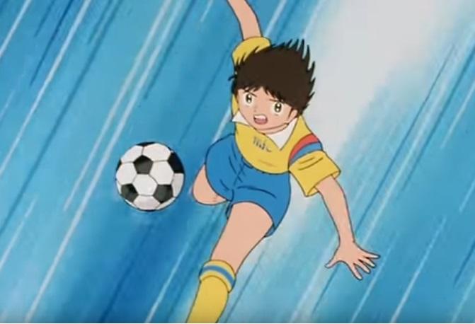 Julian Ross squadra mambo malato di cuore -  Holly e Benji anime manga Capitan Tsubasa cartone animato  campionato nazionale