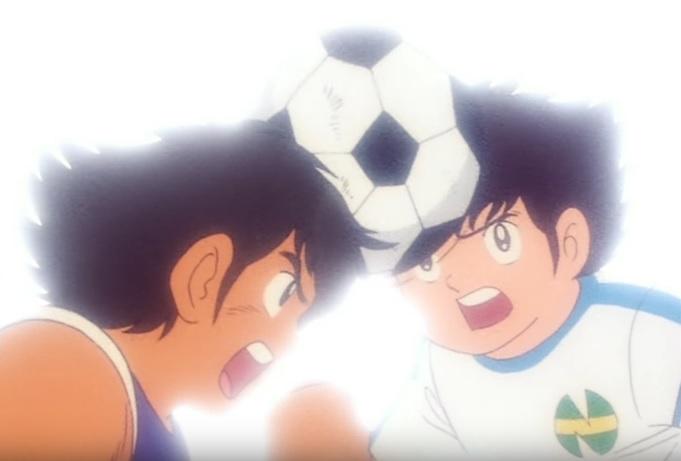 Holly e Benji anime manga Capitan Tsubasa cartone animato squadra San Francis Benji prima sfida