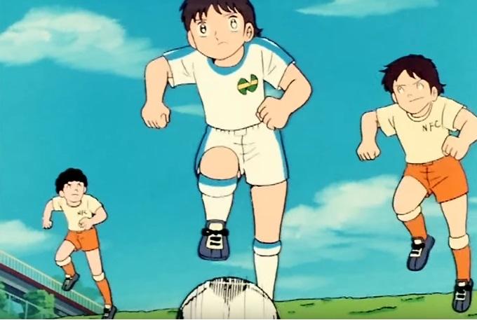Holly e Benji anime manga Capitan Tsubasa cartone animato squadra norkfolk superportiere grande e grosso