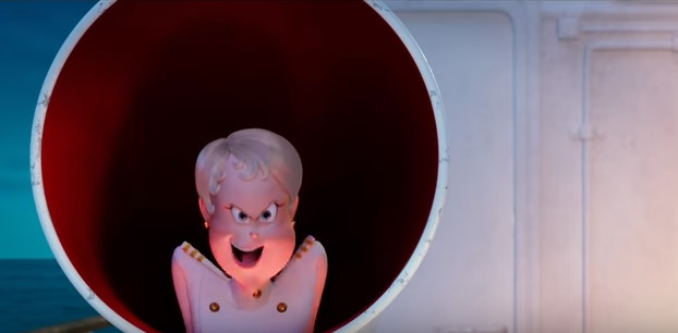 Hotel Transylvania 3 Una vacanza mostruosa - Erika - personaggio - Capitano della nave - film d'animazione 2018 - film di animazione - Sony