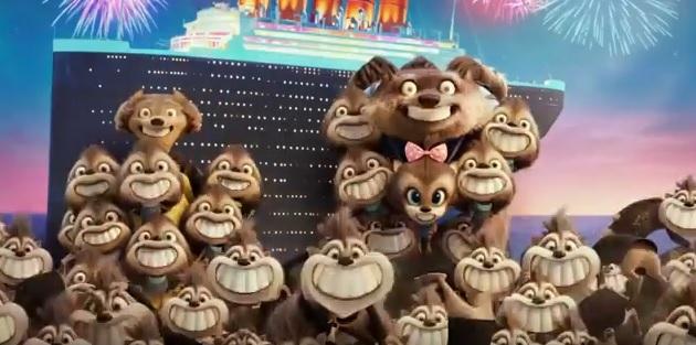Hotel Transylvania 3 Una vacanza mostruosa - Film di animazione 2018 - Sony - Famiglia Wayne e Wanda