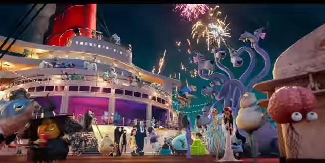 Hotel Transylvania 3 Una vacanza mostruosa - Film di animazione 2018 - Sony - tutti i mostri in crociera