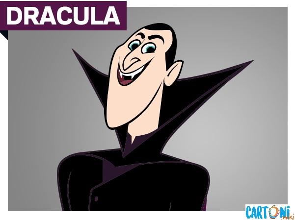 Dracula detto Drac personaggio del cartone animato Hotel Transylvania la serie, cartoni Disney Channel, persoanggi