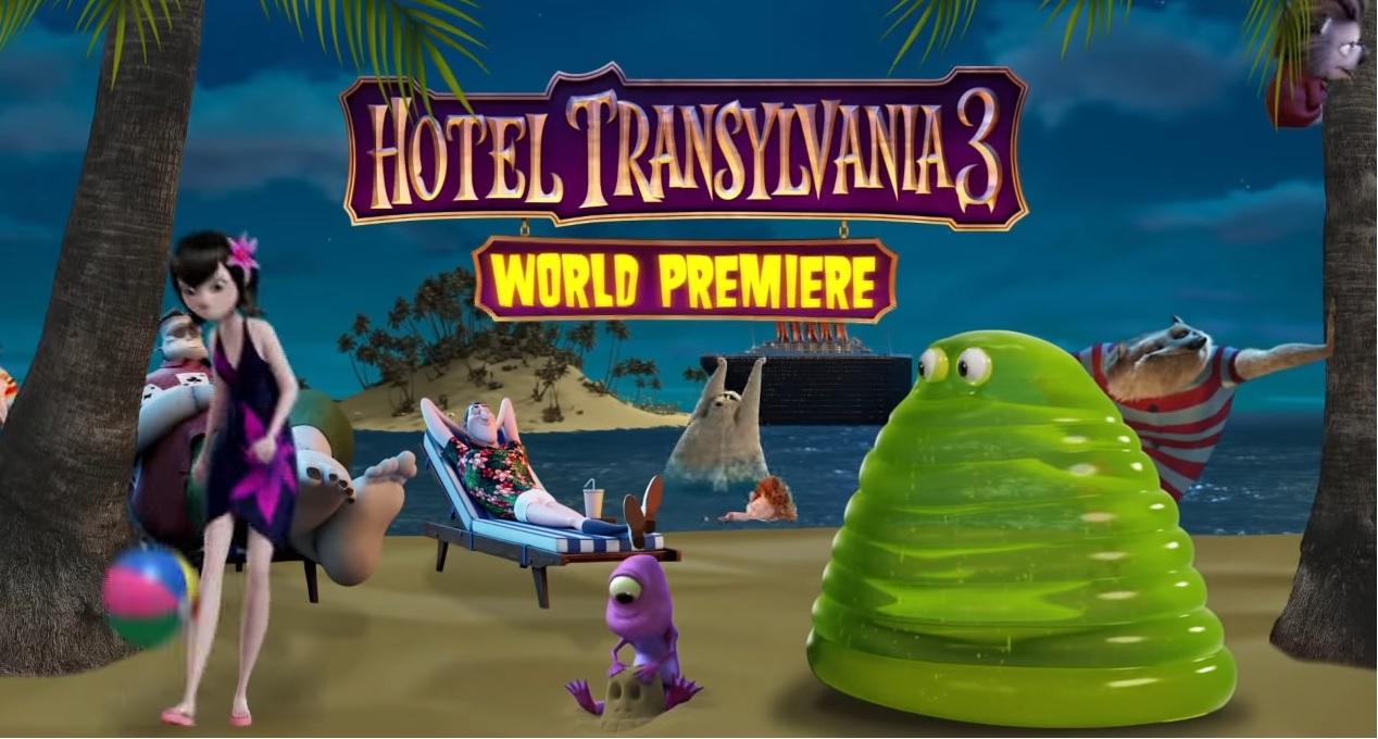 HOTEL TRANSYLVANIA 3: SUMMER VACATION - World Premiere - Cartoni animati