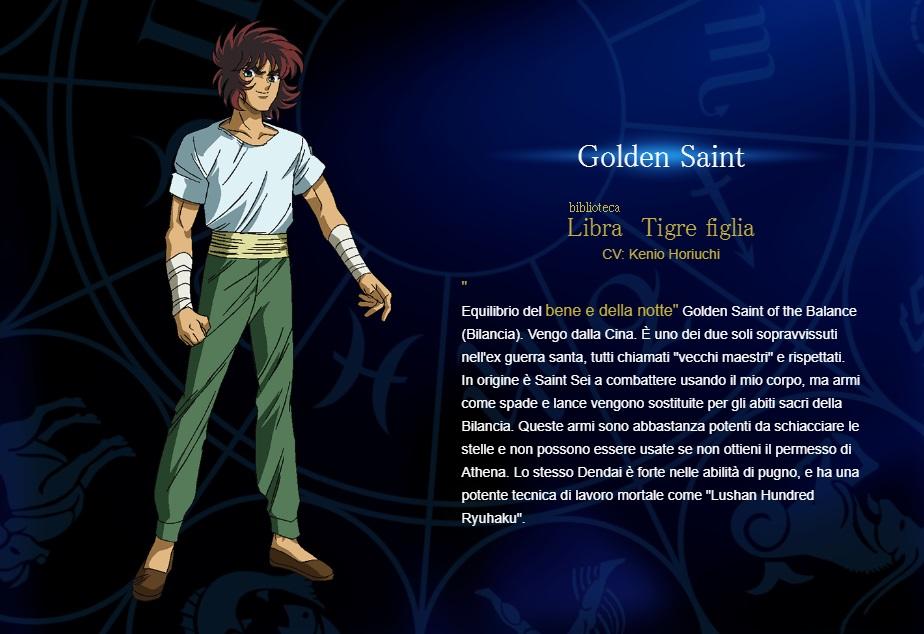 Bilancia - I cavalieri dello zodiaco personaggi - saint seiya personaggi - saint seiya soul of gold - saint seiya personaggi - saint seiya characters - animae - cartoni animati