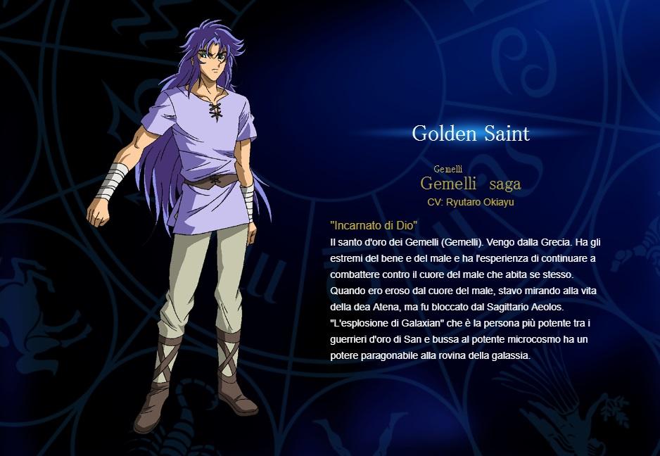 Gemelli - I cavalieri dello zodiaco personaggi - saint seiya personaggi - saint seiya soul of gold - saint seiya personaggi - saint seiya characters - animae - cartoni animati