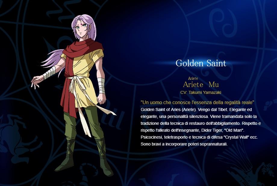 Ariete - I cavalieri dello zodiaco personaggi - saint seiya personaggi - saint seiya soul of gold - saint seiya personaggi - saint seiya characters - animae - cartoni animati
