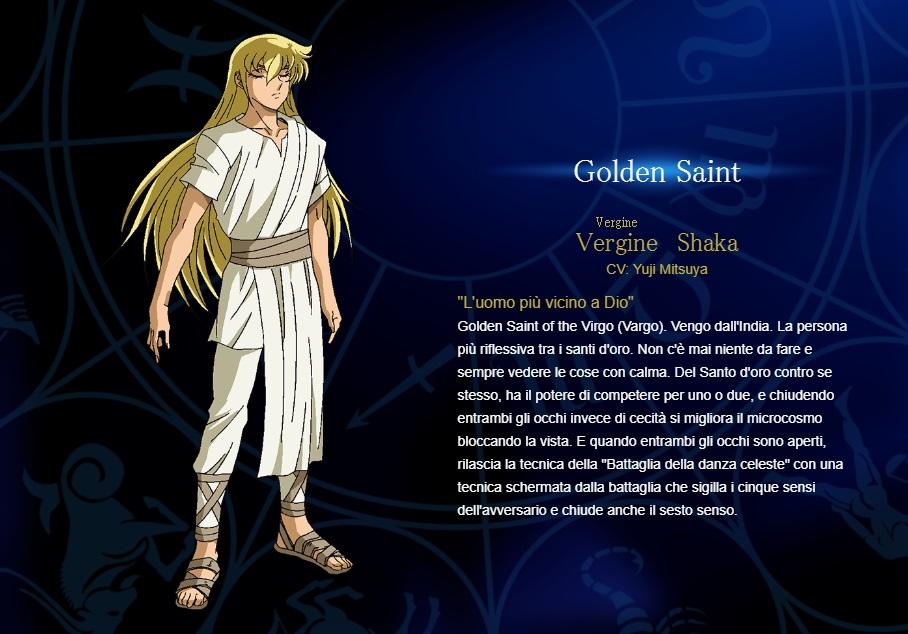 Vergine - I cavalieri dello zodiaco personaggi - saint seiya personaggi - saint seiya soul of gold - saint seiya personaggi - saint seiya characters - animae - cartoni animati