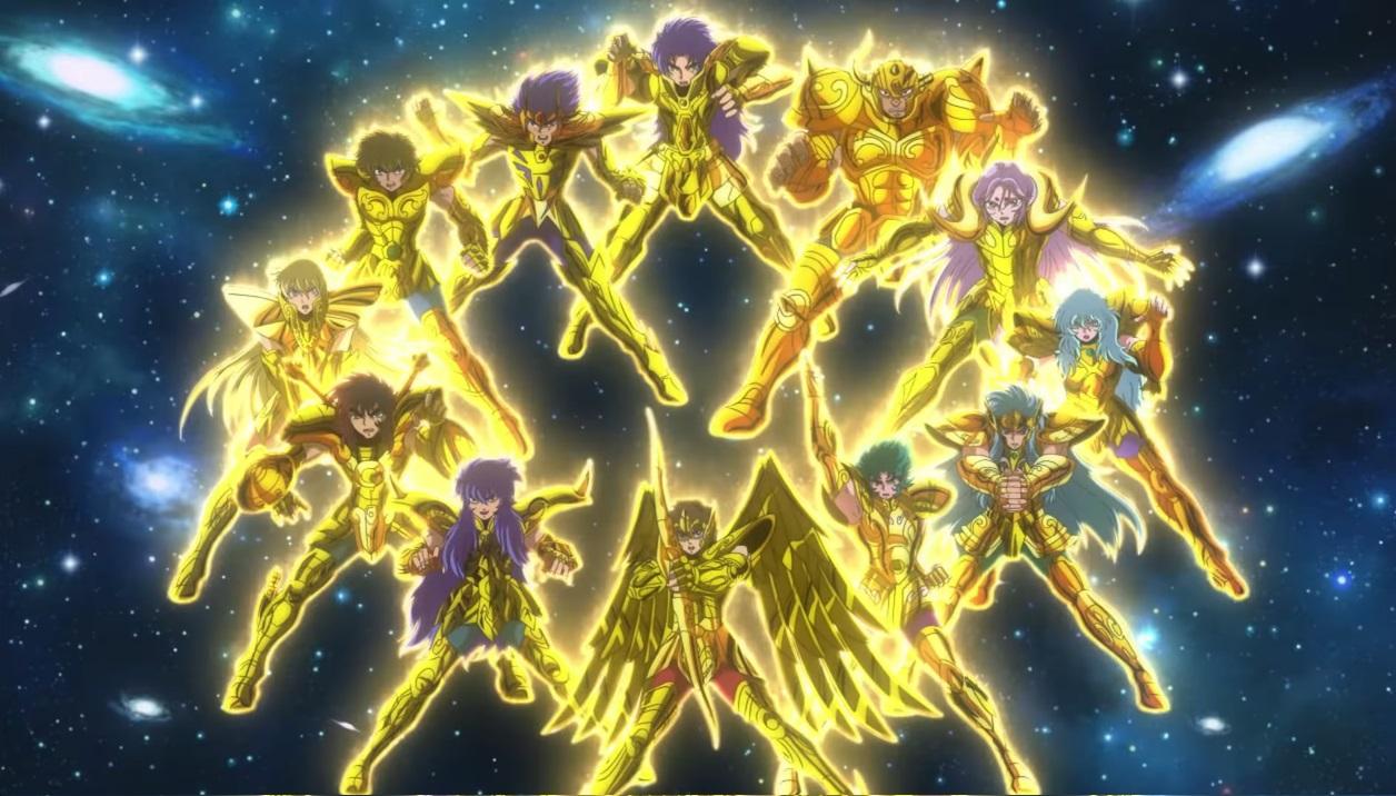 Saint Seiya: Soul of Gold - i 12 cavalieri d'oro - personaggi - I cavalieri dello zodiaco anime 2015 toei animation - yamato animation - cartoni animati giapponesi