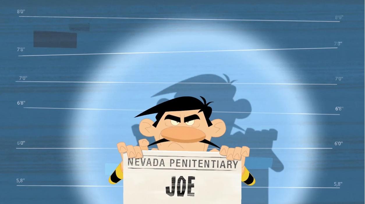I dalton Personaggi Joe il più basso cartoneanimato K2
