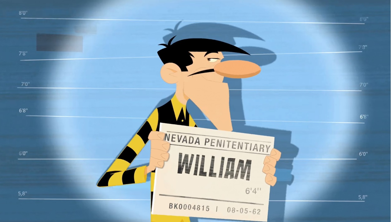 William I dalton Personaggi William  cartoni animati K2 Les Dalton