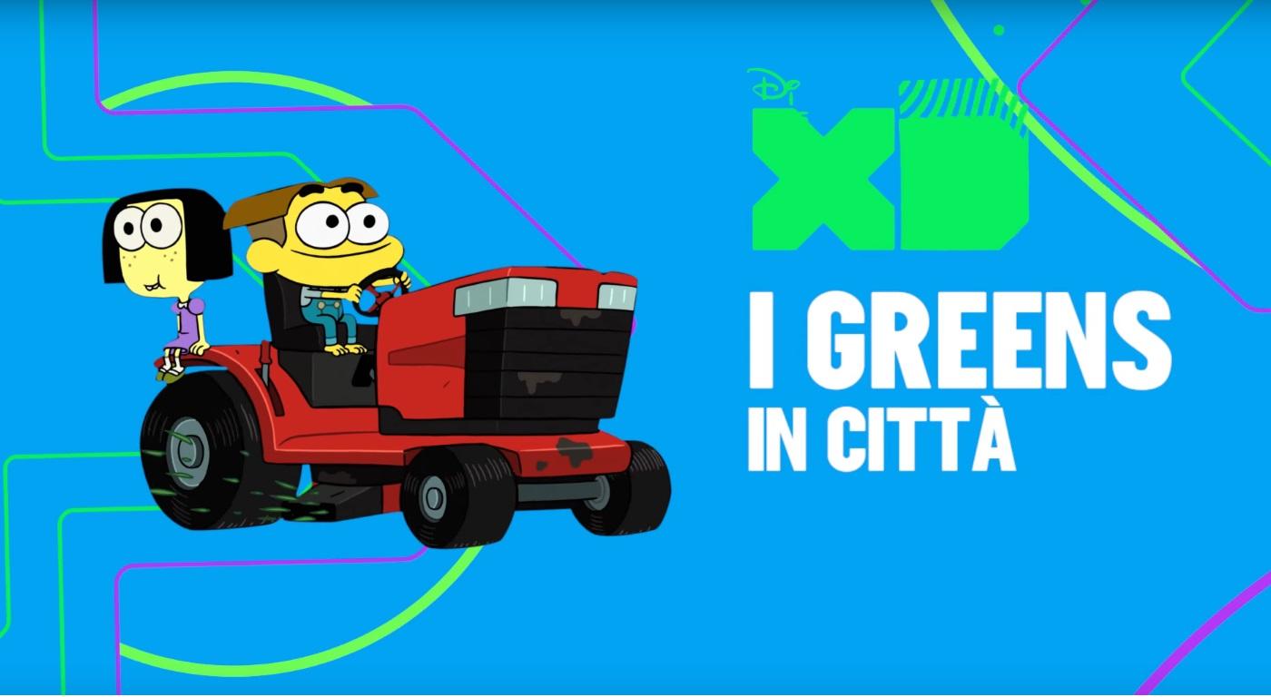 I Greens in città - Cartoni animati