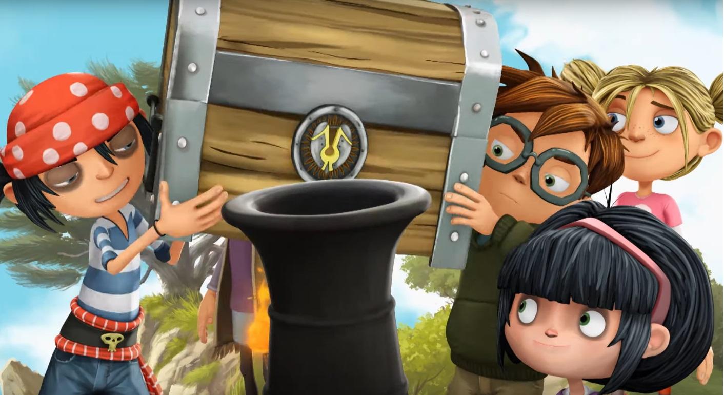 I pirati della porta accanto cartoni animati - the pirate the next door - personaggi