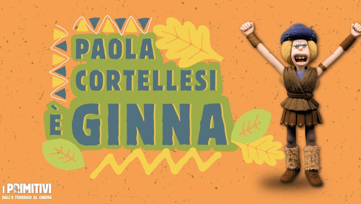 I primitivi film di animazione 2018 Doppiatori Paola Cortellesi da la voce a Ginna