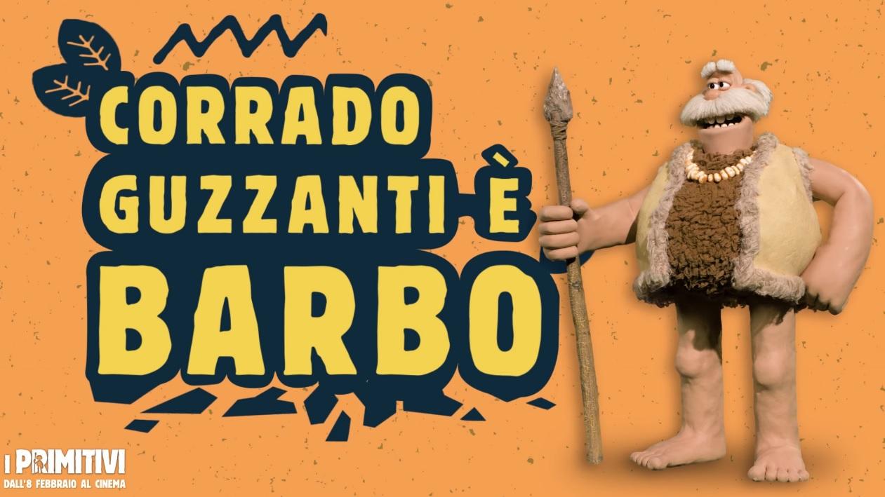 I primitivi film di animazione 2018 Doppiatori Corrado Guzzanti da la voce a Barbo