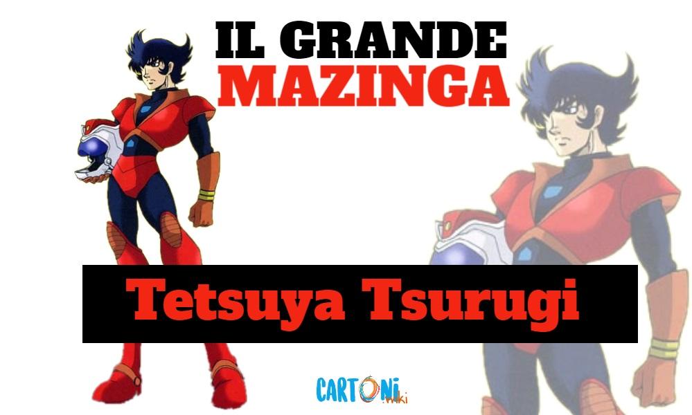 Tetsuya Tsurugi - Il grande mazinga the great mazinger - anime - cartoni animati anni 70 - mesha - robot