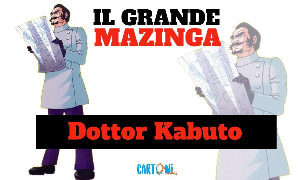 Dottor Kabuto - Il grande mazinga the great mazinger - anime - cartoni animati anni 70 - mesha - robot