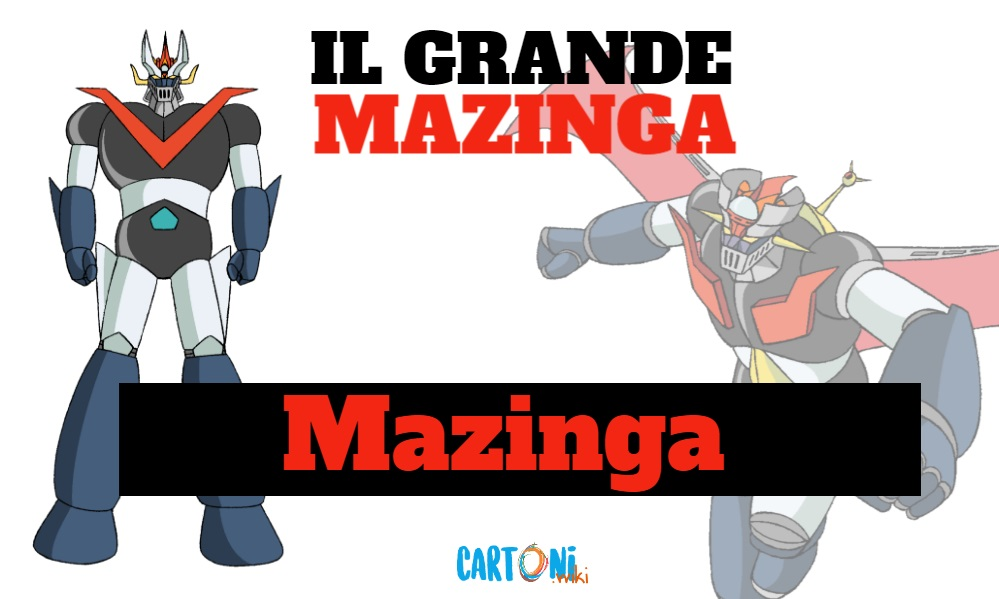 Mazinga - Il grande mazinga the great mazinger - anime - cartoni animati anni 70 - mesha - robot