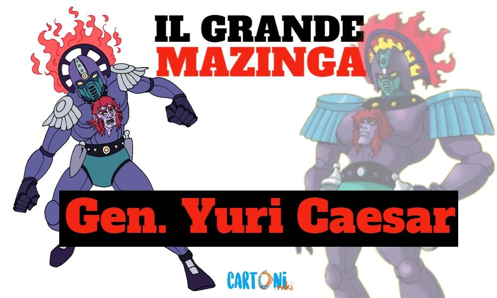 Generale Yuri Caesar - Il grande mazinga the great mazinger - anime - cartoni animati anni 70 - mesha - robot