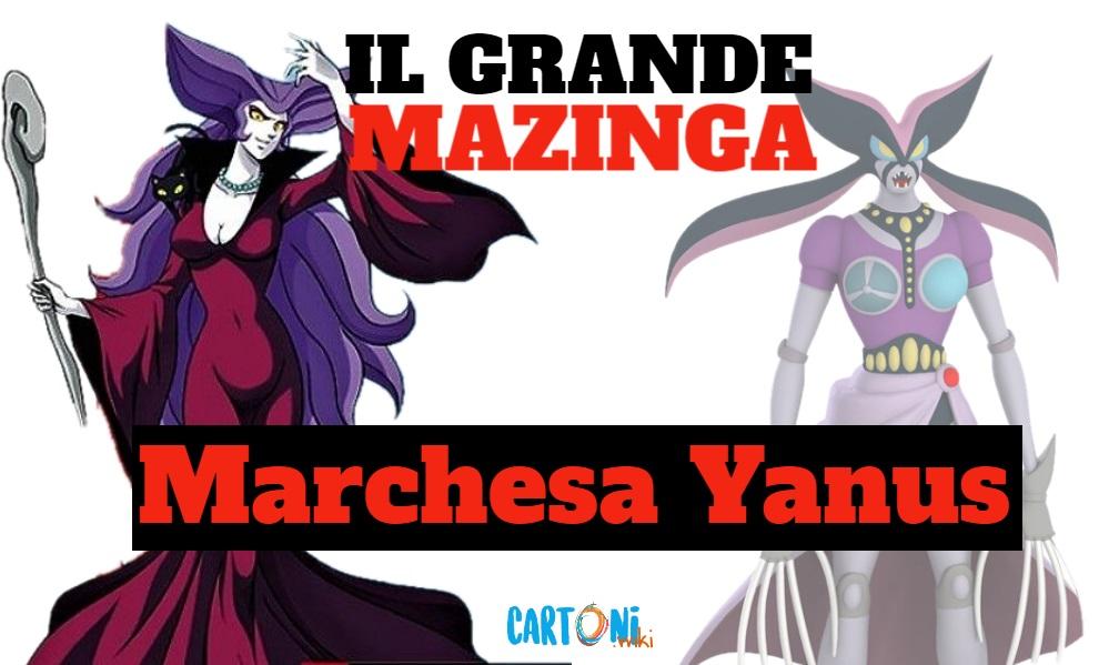 Marchesa Yanus - Il grande mazinga the great mazinger - anime - cartoni animati anni 70 - mesha - robot