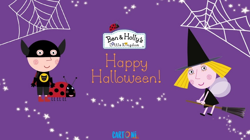 Happy halloween ben and holly cartoni animati