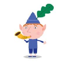 Il piccolo Regno di Ben e Holly - Personaggi - Ben - Elfo - cartoni animati - cartone animato - Bambini età prescolare - 0-3 anni - Rai Yoyo