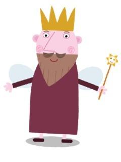 Il piccolo Regno di Ben e Holly - Personaggi -  Re Cardo - Fata - cartoni animati - cartone animato - Bambini età prescolare - 0-3 anni - Rai Yoyo