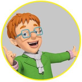 Sam il pompiere - NORMAN PRICE - cartoni animati - cartonito - personaggi fireman Sam - characters